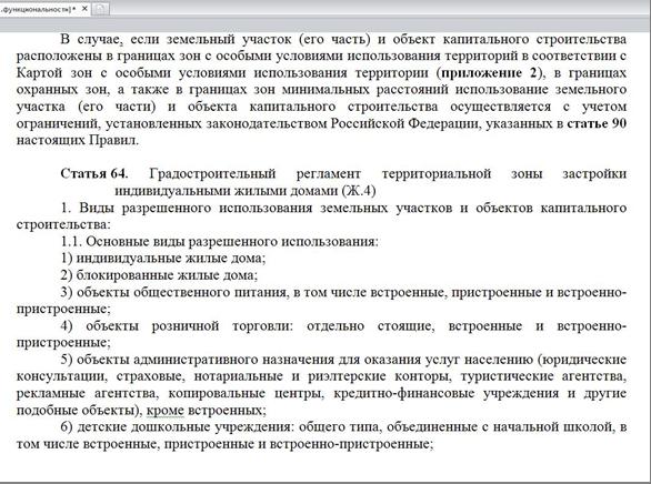 участки Ж4