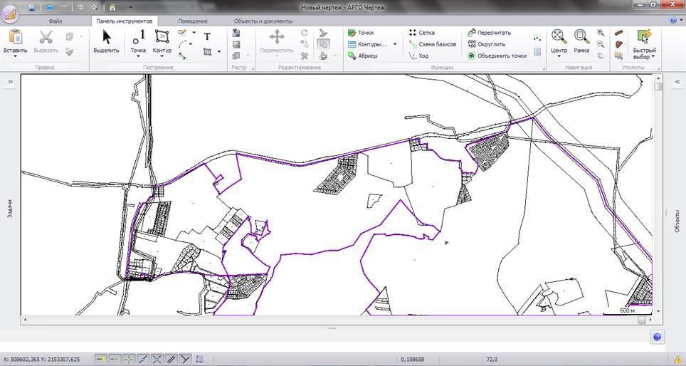как составить схему участка АГРО 7
