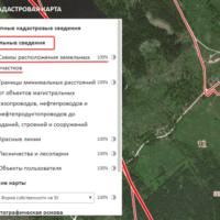 Схема размещения земельного участка на кадастровом плане